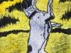 Jack Russell Terrier Linocut