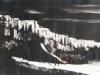 Cliffs Collagraph Monoprint